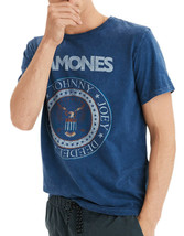 American Eagle Mens Blue Ramones Cotton Graphic Tee T-Shirt Sz Small S 3... - $19.59