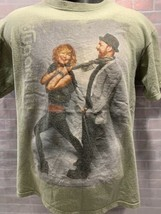 Sugarland The Incredible Machine 2011 Tour Concert T-Shirt TAILLE M - $10.39