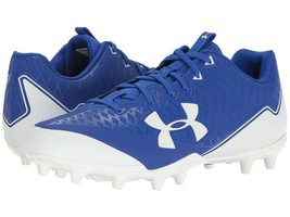 Under Armour Low Football Cleats Men's 14 Nitro Select Blue New - $17.57