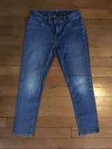 ! childrens place medium wash jeggings blue jeans stretch denim pants 6x... - $4.94