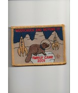2001 Woodchuck and Beyond Family Camp patch - $4.16