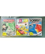 Monopoly Sorry! Game Of Life Rivals Edition 2 Player Game Sealed Hasbro New - $69.29