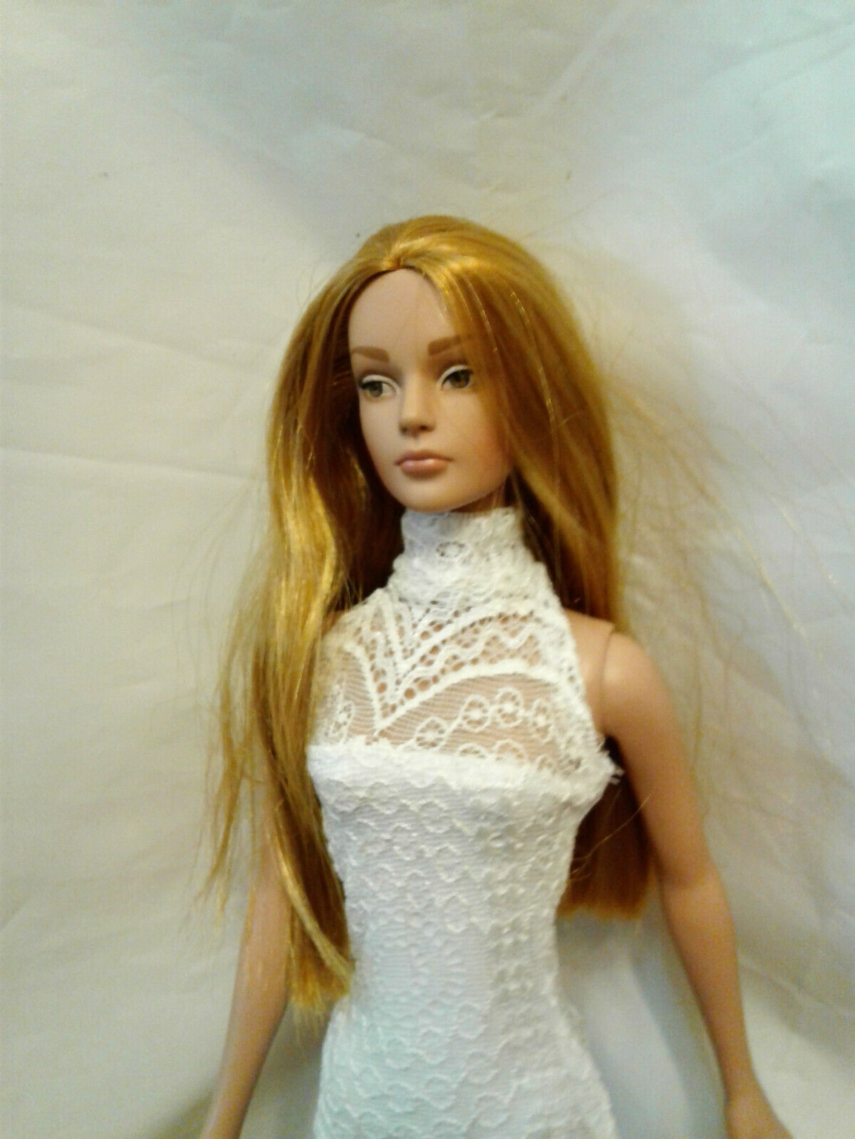 "new pale pastel pink petticoat ellowyne  msd 16/"" dolls full length"
