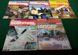 AMERICAN SURVIVAL GUIDE MAGAZINE _ 5-Issues _ 1987-00 _ TEOTWAWKI _ Life... - $28.01