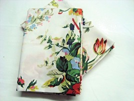 2 King Pillowcases Set Two New Ralph Lauren BELLE HARBOR WHITE FLORAL Fa... - $74.89