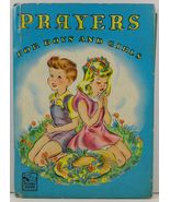 Prayers For Boys and Girls by Frances Cavanah - $4.99