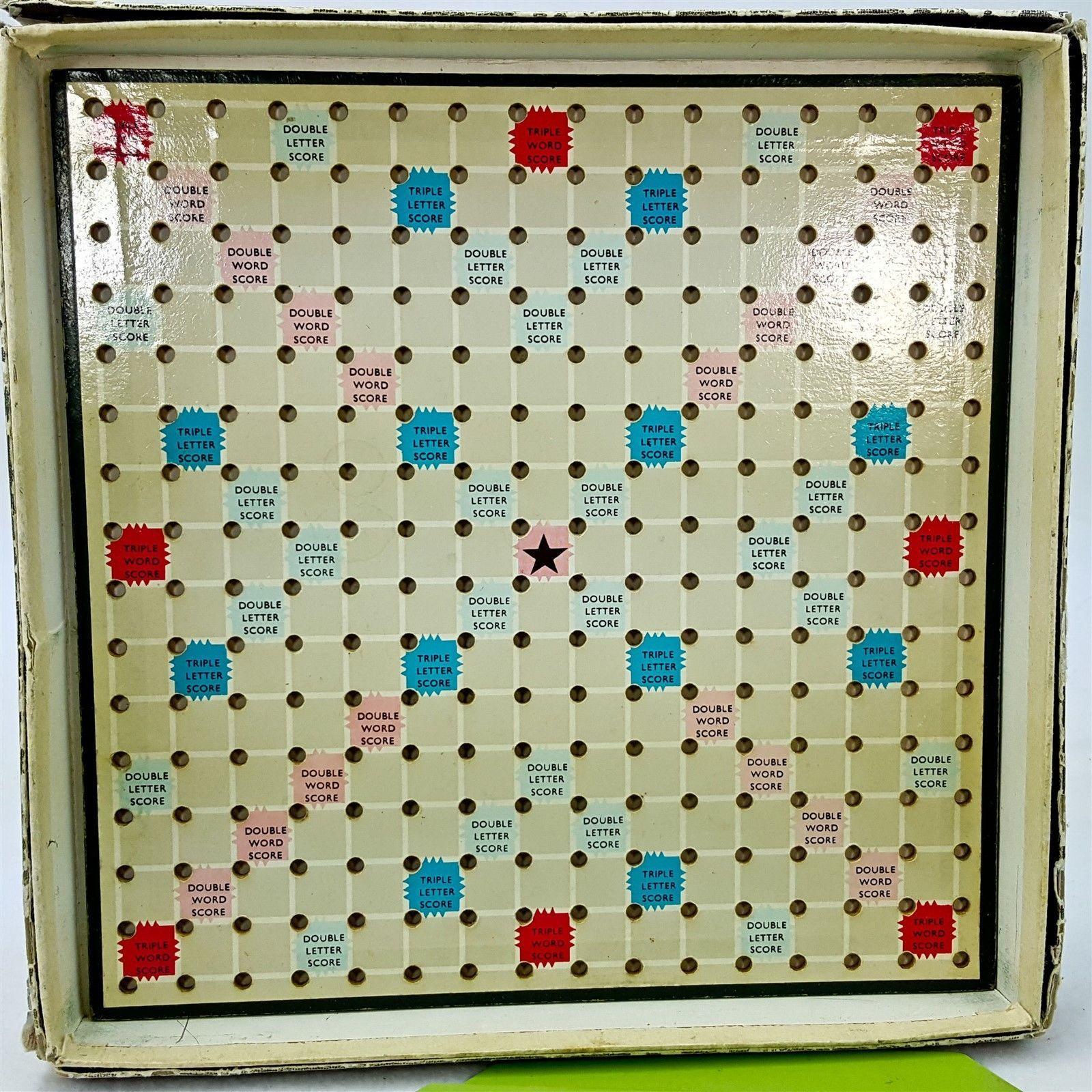 Vintage Travel Scrabble 43