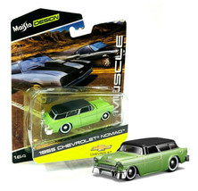 Maisto Design Muscle 1955 Chevrolet Nomad 1/64 Scale New in Package - $10.88