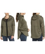 The North Face Women's Cozy Slacker Full Zip Fleece Jacket Taupe Green S... - $68.39