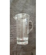 ACRYLIC WATER / BEVERAGE PITCHER - HAMMERED PATTERN - $5.99