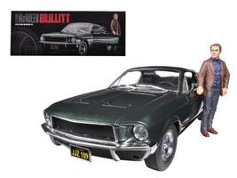 "1968 Ford Mustang GT Fastback ""Bullitt"" Highland Green with Steve Mcquee... - $108.95"