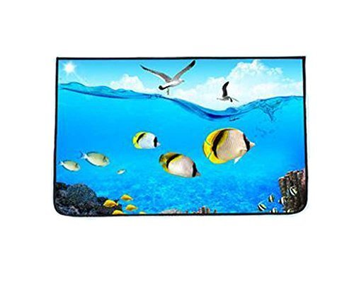 Lovely Cartoon Car Curtains Sunshades Sunscreen Insulation Sunshades, Seabed
