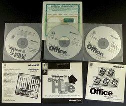 Windows 95 Operating System Install + Product Key CD Version w/ Support ... - $39.95