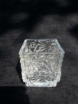 Avon collectible cut glass candle holder - $5.00