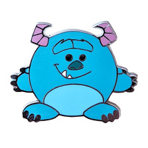 Monsters Inc. Disney Lapel Pin: Round Characters Sulley - $5.90
