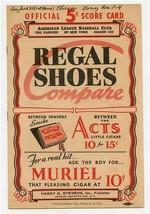 1937 New York Giants Boston Braves Score Card Ott Hubbell - $245.52