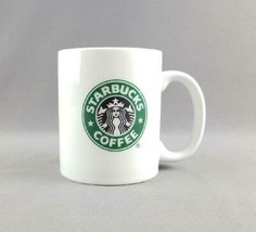 Starbucks Coffee 2006 Green Mermaid / Siren Logo Doublesided Coffee Mug Tea Cup - $10.88