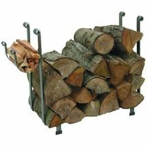 Enclume Large Rectangular Log Rack, Hammered Steel - $157.65