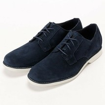 Timberland Mens Stombuck Lite Men's Navy Blue Suede Oxford Dress Shoes 9021B - £45.02 GBP