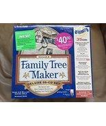Family Tree Version 8 Deluxe 35 CD Set By Broderbund, 2000 - $95.04