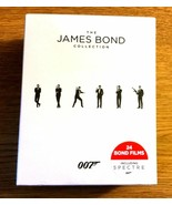 The James Bond Collection (Blu-ray Disc, 2016, 24-Disc Set) + BOND GIRLS... - $179.88