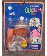 Vintage Uneeda Wishnik Space Astronaut Troll Figure New In The Package - $99.99