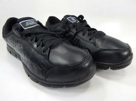 Skechers Relaxed Fit - Eldred Sr 7.5 Ew Ancho Eu 37.5 Mujer Zapatos de Trabajo