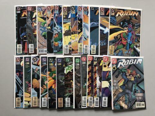 Lot of 48 Robin Comics Jokers WIld Cry of Huntress VF-NM Near Mint
