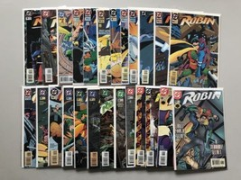 Lot of 48 Robin Comics Jokers WIld Cry of Huntress VF-NM Near Mint - $99.00