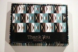 Papyrus Designer Thank You 12 Pack Note Cards With Lined Envelopes Nib Free Ship - $39.97