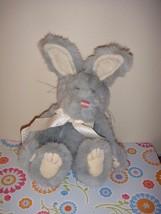 Boyds Bears Nibbie Bunnyhop Blue Bunny Rabbit - $13.99