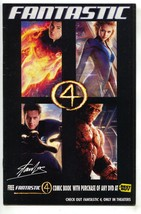 Fantastic Four 4 1 Marvel 2005 FN Best Buy Exclusive Movie - $4.74