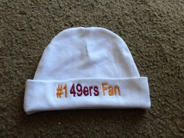 San Francisco 49ers Football Baby Newborn Hospital Hat Beanie Cap  hat - $19.99