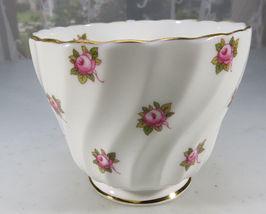 Vintage Aynsley Porcelain Tea Cup Hathaway Bone China Pink Roses England image 4