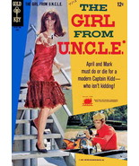 Girl from U.N.C.L.E., The #3 VG; Gold Key | low grade comic - save on sh... - $7.50