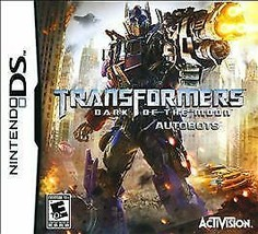 Transformers: Dark of the Moon Autobots (Nintendo DS 2011) w/ Case - No ... - $3.11