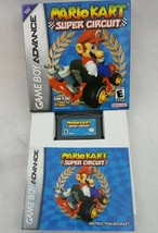 Mario Kart Super Circuit (Nintendo Game Boy Advance, 2001) GBA w/ Manual... - $34.64
