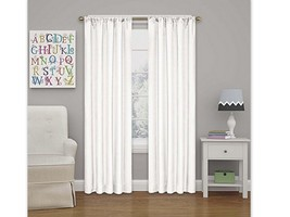 """Kendall Thermaback Blackout Curtain Panel White (42""""x63"""") - Eclipse  h4 - $8.54"""