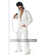 King Of Rock Legend Not Elvis Holiday Party Costume Cosplay Large - $29.69