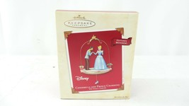 Hallmark Keepsake QXD5139 Cinderella and Prince Charming Ornament - $18.80