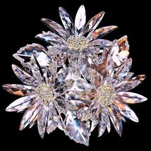 Retired Swarovski Crystal 252976 In the Secret Garden Maxi Flower Arrang... - $419.99