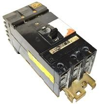 SQUARE D LJ-8212 3-POLE CIRCUIT BREAKER 225 AMP 600 VAC - $74.99