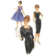 1960s Vtg Butterick Sewing Pattern 9563 Sheath Flared Dress Jacket 12 UN... - $29.95