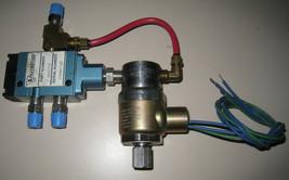 MAC Pneumatic 120 Solenoid Operated 4 5-Way Directional Control Valve Pe... - $54.44