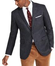 Brooks Brothers Mens Blue Herringbone Milano Fit Wool Cashmere Blazer 42... - $197.99