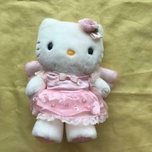 Sanrio Angel Hello Kitty Plush Doll Pretty Dress Fairy Letter Used Mint ... - $37.12