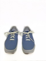 Keds Stretch Women's Blue Canvas Lace Up Sneaker Shoes Size 8.5 - $26.29 CAD