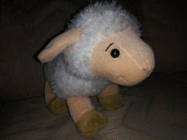 "Kohls Cares Eric Carle Sheep Lamb Plush 13"" White 2012 Stuffed Animal Surface... - $14.84"