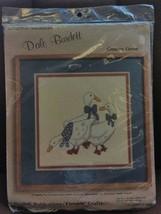 "VTG 1984 Dale Burdett Longstitch Needlepoint ""Country Geese"" Fireside Cr... - $29.69"