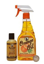 Howard Feed-N-Wax Wood Preserver 4.7 oz and Howard Orange Oil Wood Clean... - $15.83
